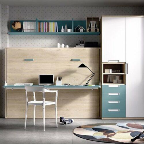 Cama_abatible_con_escritorio H411_yupih
