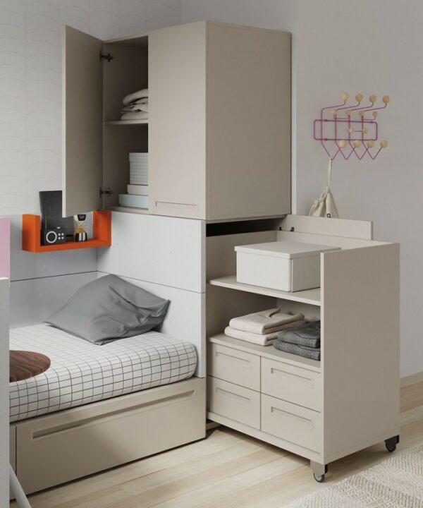 Cama Cajones Nest34 - yupih