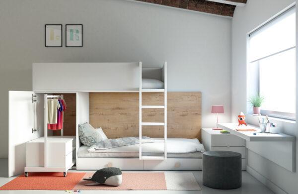 ¿Litera o cama nido?