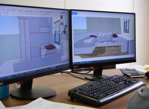 Proyecto a medida: habitación con diseño en 3D